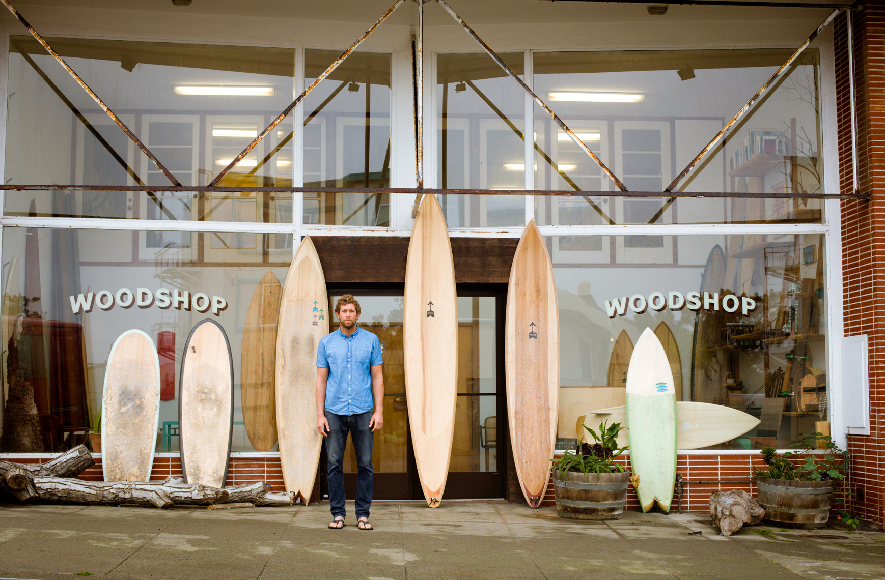 Danny Hess Board builder Ocean Beach SF